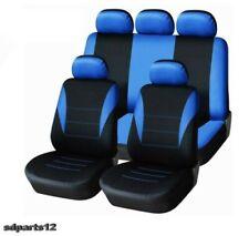 Per Nissan Peugeot Citroen Fodere Copertura Sedili Set Completo Blu - Nero