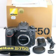 """""""Top Mint"""" Nikon D750 Almost Unused Just 10 SC Camera Black Ship from Japan"""