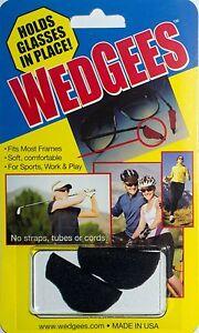 WEDGEES Eyeglasses Glasses Sunglasses Retainers Eyewear No Slip Grip Holders
