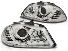 LED FAROS LPSE27 SEAT IBIZA 6L 2002 2003 2004 2005 2006 2007 2008 CHROME