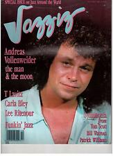 JAZZIZ Magazine Nov 1986 (+ Vollenweider, Carla Bley, T Lavitz US Jazz Mag