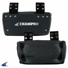 """CHAMPRO YOUTH 4""""  FOOTBALL BACK PLATE"""