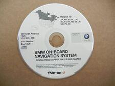BMW navigation CD 3 5 7 X5 GPS system map update disc # 10 AK CANADA TOMTOM 2014