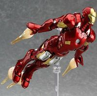 The Avengers Marvel Iron Man PVC Action Figure Collection Gift Kids Toy Figma