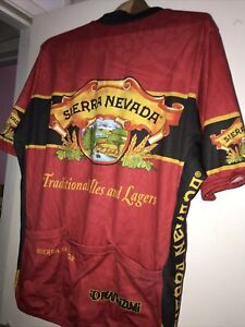 Sierra Nevada Brewing Pearl Izumi Cycling Jersey Traditional ales lagers L-XL