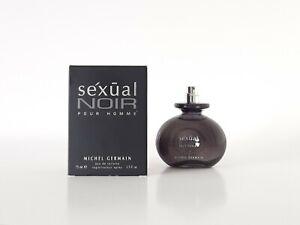 MICHEL GERMAIN Sexual Noir 125ml Eau de Toilette Men's - unboxed (FREE SAMPLES)