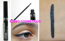 Nyc Liquid Eyeliner 888 Pearlized Black Black Pearl Tip End & Flexible Blister