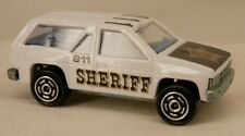 Novacar (Portugal) Nissan Pathfinder/Terrano White Police Sheriff SUV 1/64 Scale