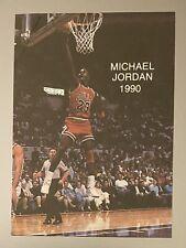 1990 MICHAEL JORDAN NBA Wasatch ALL STAR #2 Chicago Bulls Card Basketball