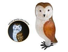 The Snowman Acrylic Owl Figure LED Lights Garden Christmas Xmas Decoration 56cm