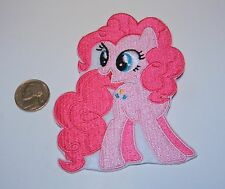 MY LITTLE PONY PINKIE PIE EMBROIDERED PATCH... SEW OR IRON ON... MLP... NEW...