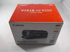 New Open Box Canon VIXIA HF R500 HD Camcorder - BLACK - 013803239034 - 9176B001