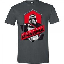 Star Wars VII Men's The Force Awakens Captain Phasma Shield T-shirt Extra E