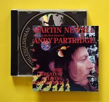 Martin Newell - The Greatest Living Englishman CD (Pipeline, 1993) Rare US issue