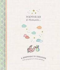 *HUGE SALE* Cute Baby Record Book (Memories Moments) in Hardcover Baby Shower