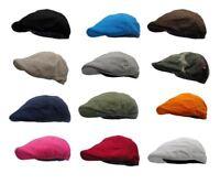 Bright Summer Cotton Newsboy Hats
