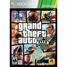 Grand Theft Auto V GTA 5 For Xbox 360 Very Good 5Z