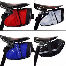 Bike Rear Seat Pack Bicycle Saddle Bag VeloChampion Slick Wedge Cycle Pannier