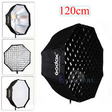 Godox 120cm Photography Umbrella Octagon Softbox w/ Grid For Studio Flash Light