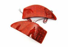 Red Lens Bumper Reflector LED Stop Brake Light For 06-13 Lexus IS250 IS350 XE20
