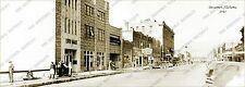 "Bessemer, Alabama 1941 Panoramic Sepia Photo 5"" x 14"""