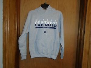 Dallas Cowboys Authentic Apparel Youth Size M 12-14 L 16-18 Hooded Sweatshirt