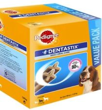 Pedigree Dentastix Pet Medium Dog (10-25Kg) Dental Care 70 Sticks Treats  Bulk