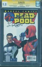 Deadpool 54 CGC 9.8 3X SS Stan Lee Liefeld Palmotti vs Punisher Top 1 Movie