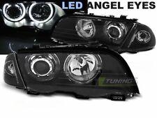 Luuchten fir BMW 3 Serie E46 98-01 ST Angel Eyes LED Schwaarz LPBMG1ET XINO IT