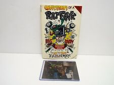 "RAT FINK CONFESSIONS OF A RAT FINK SIGNED BOOK & POSTER ""ED ROTH""  (RF9)"