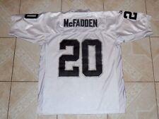 Reebok NFL Oakland Raiders Darrin McFadden Football Jersey Sewn New Size 50 L