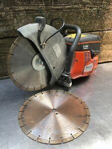 HUSQVARNA K760 CONCRETE SAW w/ Blades