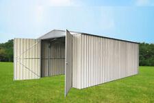Cheap Shed workshop Storage Garden Sheds Outdoor Metal Steel 3.5x5.1x 2.12m Dbl