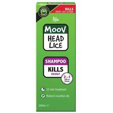 Ego Moov Head Lice & Nit Treatment Shampoo 200ml