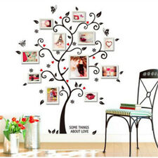 Happiness Photo Frame Tree Wall Sticker For Living Room Bedroom Decoration T02