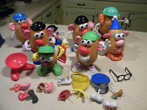 Huge lot of Mr. Potato Head toys  90+ pieces