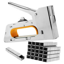 4/6/8mm Heavy Duty Staple Gun 2500 Staples diy Upholstery Fabric Stapler Tacker