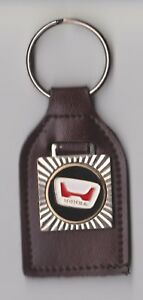 Leather HONDA Car Keyring Keychain Logo Schlüsselanhänger Porte-clés