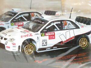 1/43 Subaru Impreza S12B WRC`07  Adapta Wales Rally GB 2010 #14 M.Ostberg