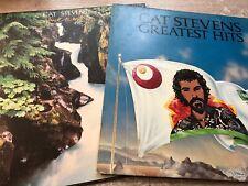 Cat Stevens Back To Earth + Cat Stevens Greatest Hits Vinyl 2LP Island German
