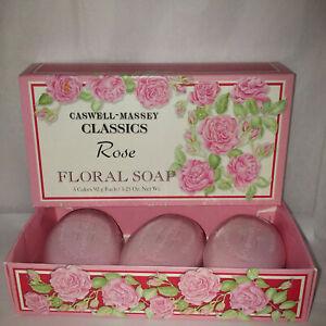 caswell massey classic rose soap set