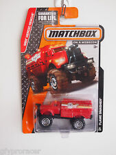 MATCHBOX MBX HEROIC RESUCE FLAME SMASHER 92/120 FIRE DEPT WATER TRUCK