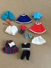 Vintage Tiny Clothes And Shoes For Kiddles, PeeWees, And Other Tiny Dolls