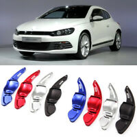 Alloy Steering Wheel DSG Paddle Extension Shifters Cover Fit For VW Scirocco 09+
