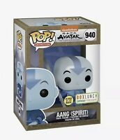 Funko Pop! Avatar The Last Airbender Spirit Aang BoxLunch GITD Glow CONFIRMED
