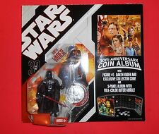 STAR WARS 30TH ANNIVERSARY COIN ALBUM WITH DARTH VADER #1 SHIPS FREE