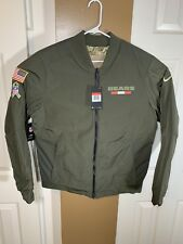 Nike Chicago Bears Salute to Service Reversible Bomber Jacket Sz. Large