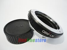 Rollei QBM mount Lens to Leica M LM M9 M8 M7 M6 M5 M4 M3 MP M240 adapter + CAP