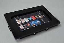 Black Acrylic Anti-theft VESA Security Kiosk Kit for Amazon Kindle Fire HDX 8.9