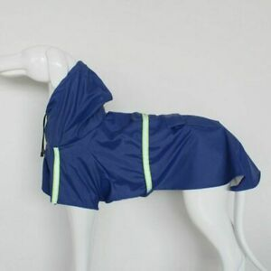 Pets Dog Raincoats Reflective Rain Coat Waterproof Jacket Breathable Clothes